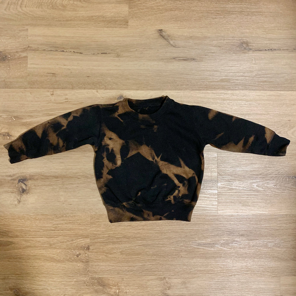 ef the label hand-dyed night owl sweatshirt