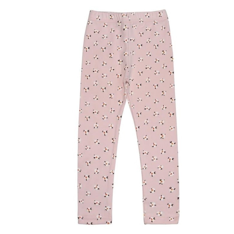 petite hailey flower leggings in pink