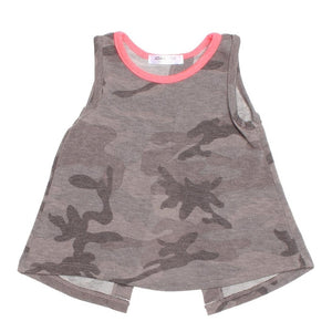 joah love shauna tank in green camo