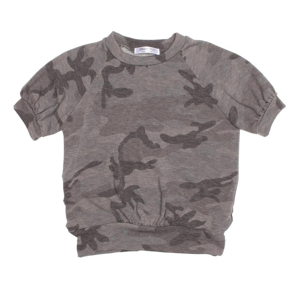 joah love coco sweat tee in camo