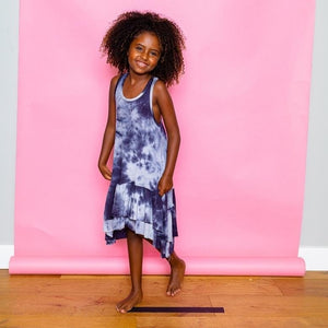 joah love scout dress in tie dye