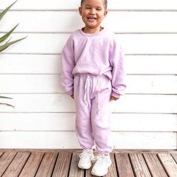 kensie's collection lilac sweatsuit set