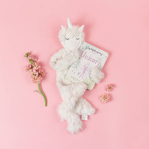 slumberkins bunicorn snuggler in rose