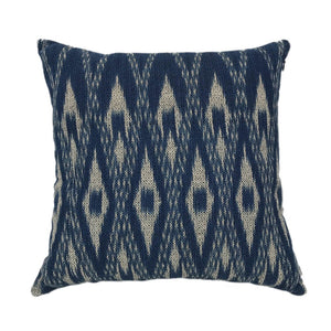 Lao Hand-dyed Indigo Pillow Cover