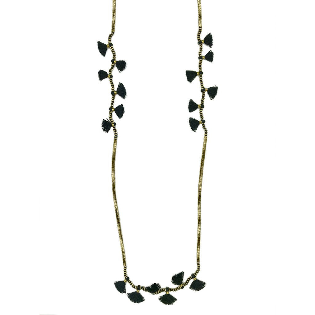 Modern Bohemian Indian Necklace