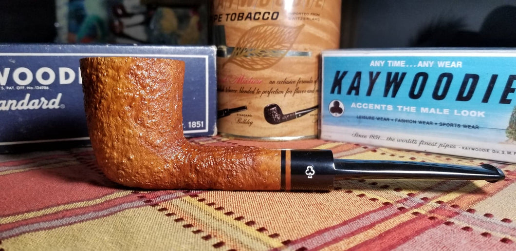 Kaywoodie Unique Natural Dublin Pipe