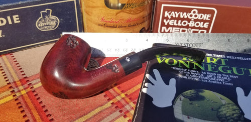 Kaywoodie Birkshire Large Bent Billiard Pipe Saddle