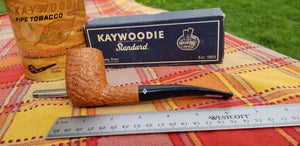 Kaywoodie Handmade pipe 0712 Bent Billiard