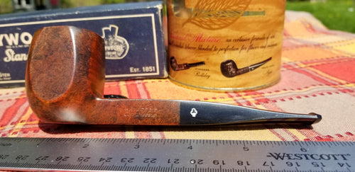 Kaywoodie Connoisseur Square Shank Panel Pipe