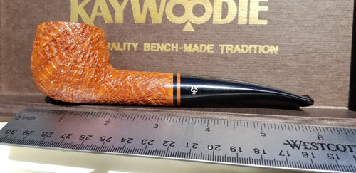 Kaywoodie Unique Natural Bent Pot shaped Pipe