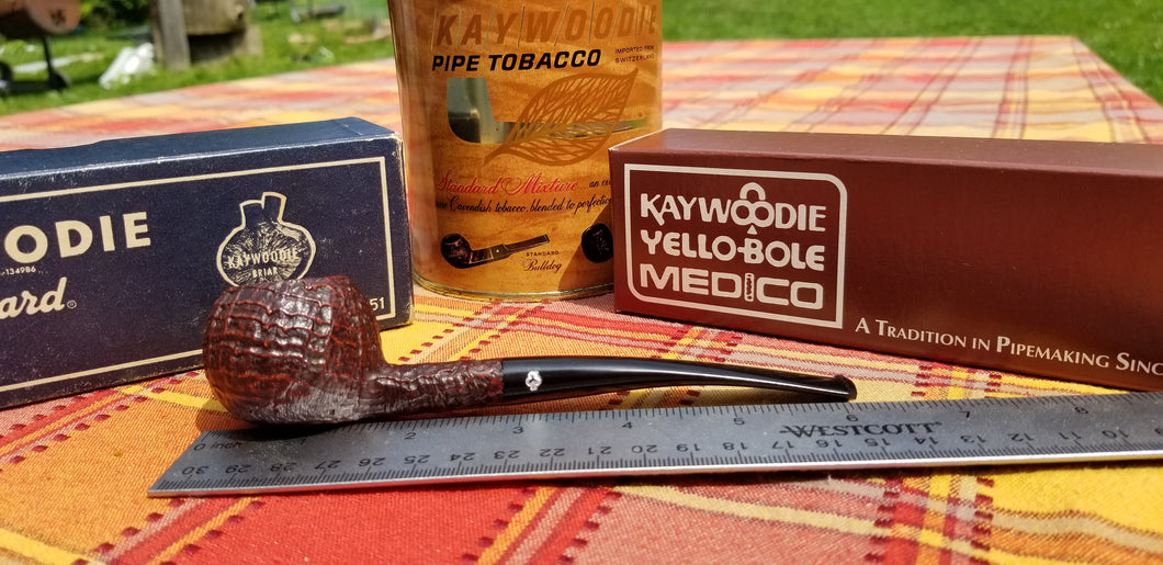 Kaywoodie Relief Grain Prince Pipe