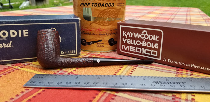Kaywoodie Relief Grain Chimney Pipe