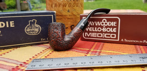 Kaywoodie Red-Root Bent Pocket pipe