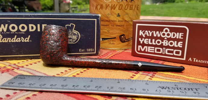 Kaywoodie Red-Root Canadian pipe