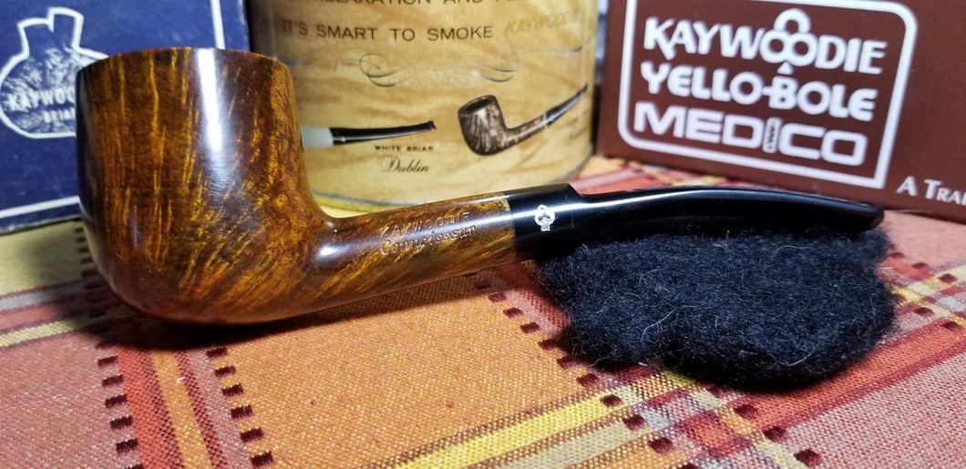 Kaywoodie Connoisseur Bent Pot Pipe