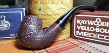 Load image into Gallery viewer, Kaywoodie Relief Grain Bent Billiard Pipe