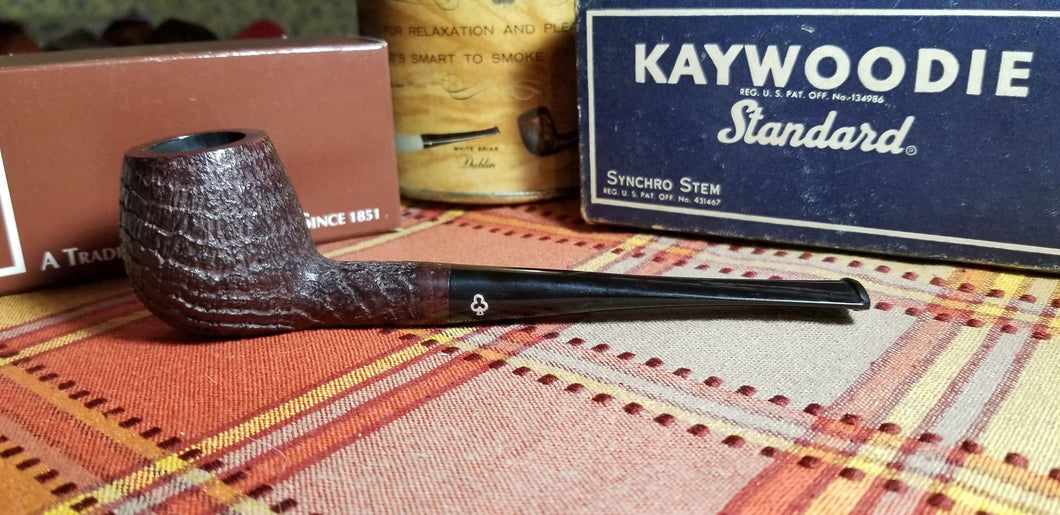 Kaywoodie Relief Grain Apple Pipe