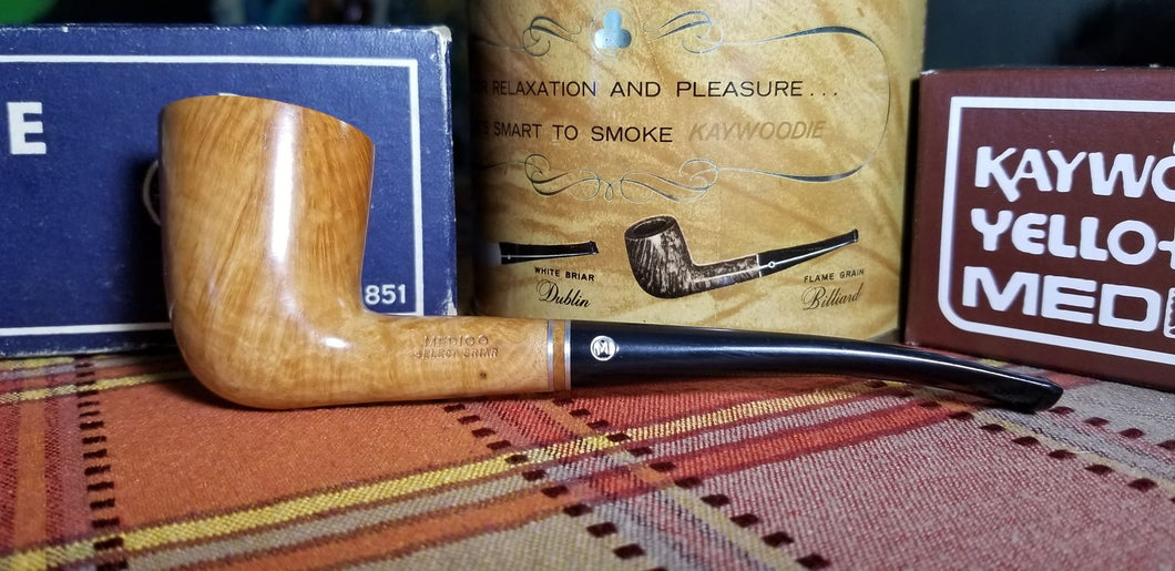Medico Select Briar Zulu shaped filtered Pipe