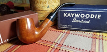 Load image into Gallery viewer, Kaywoodie Standard Large Bent Billiard pipe saddle stem