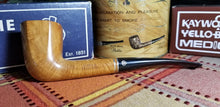 Load image into Gallery viewer, Medico Select Briar Paneled Zulu shaped filtered Pipe