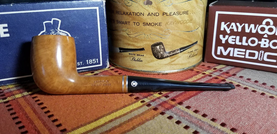 Medico Select Briar Billiard shaped filtered Pipe