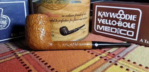 Kaywoodie Saxon Natural Small Billiard Pipe
