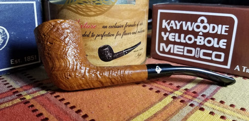 Kaywoodie Saxon Natural Zulu Pipe