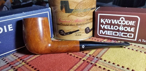 Kaywoodie Super Grain Big Billiard Pipe