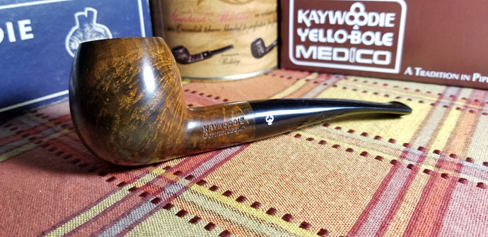 Kaywoodie Connoisseur Eighth Bent Apple Pipe