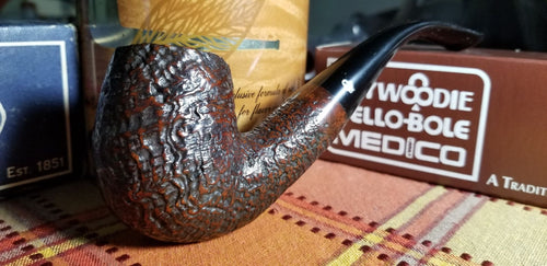 Kaywoodie Red-Root Bent Billiard pipe