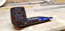 Load image into Gallery viewer, nQa Rusticated Stubby Billiard Pipe