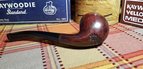 Kaywoodie Birkshire Bent Apple Pipe
