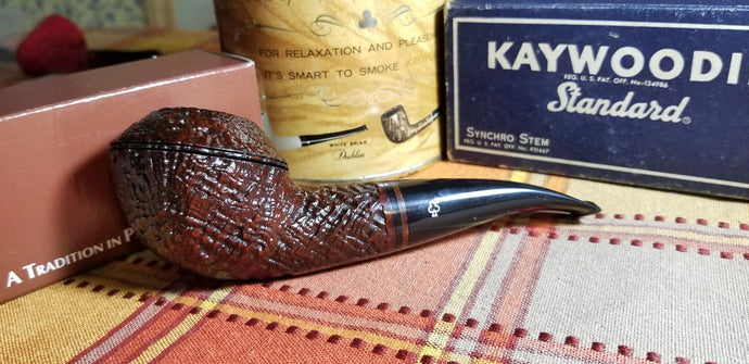 Kaywoodie 2005 Pipe of the Year Sandblasted Large Rhodesian