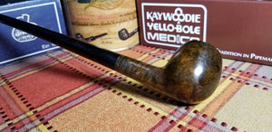 Kaywoodie Connoisseur Apple Churchwarden Pipe