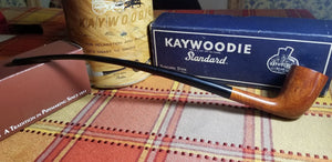 Kaywoodie Super Grain Dublin Churchwarden Pipe