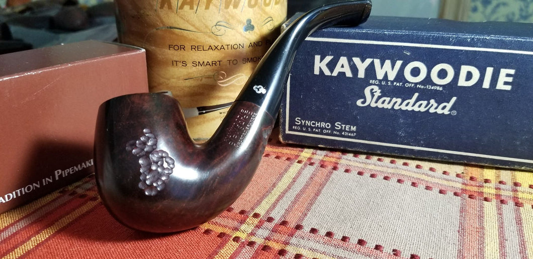 Kaywoodie Birkshire Large Bent Billiard Pipe