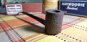 Kaywoodie Relief Grain Poker Churchwarden Pipe