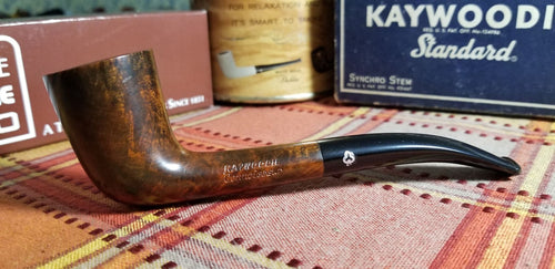 Kaywoodie Connoisseur Quarter Bent Dublin Pipe