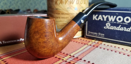 Kaywoodie Standard Large Bent Billiard pipe