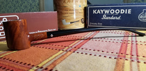 Kaywoodie Super Grain Poker Churchwarden pipe