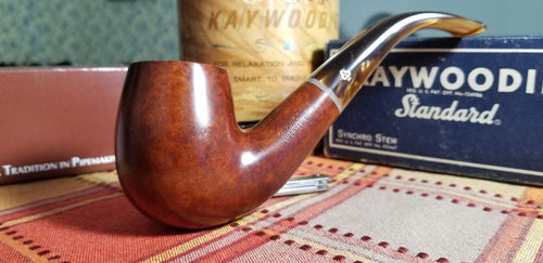 Kaywoodie Elite Bent Billiard Pipe
