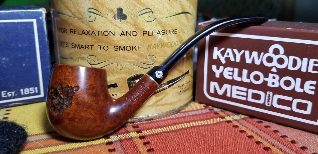 Kaywoodie Campus Bent Billiard Pipe