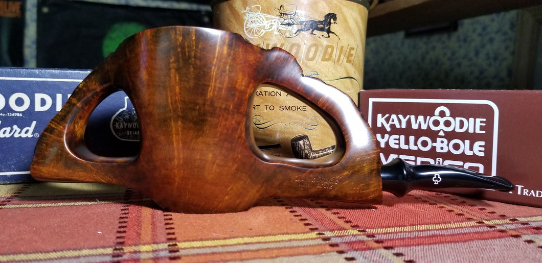 Kaywoodie Handmade pipe 1219 Double Bridge
