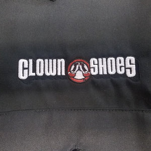 Black Clown Shoes Dickies Button Down