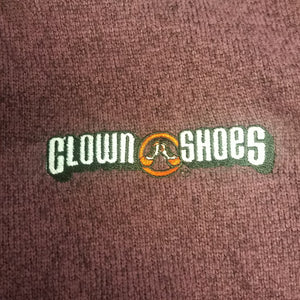 Purple Clown Shoes Better Sweater - Woman's Cut