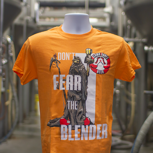 """Don't Fear the Blender"" Orange T-Shirt"