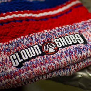 Clown Shoes Knit Pom Pom Hat