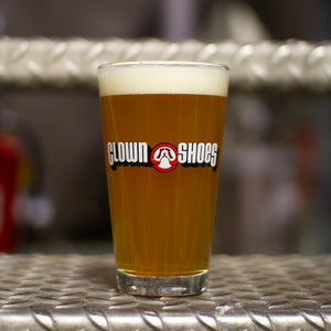 Clown Shoes Shaker Pint
