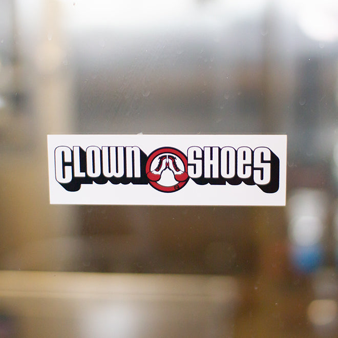 Clown Shoes Sticker