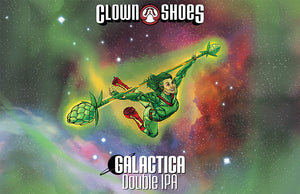 Clown Shoes Label Art Poster